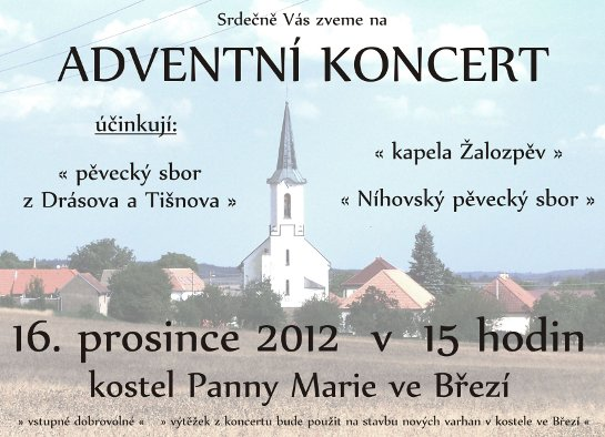 adventni koncert ve brezi